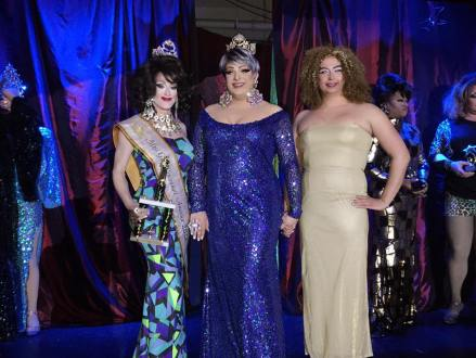 Trinity Monroe, Amanda Sue and Ria Richards at Miss Gay Cincinnati America 2016