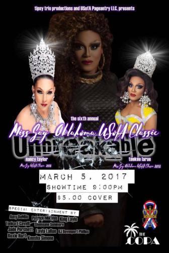 Show Ad | Miss Gay Oklahoma USofA Classic | The Copa (Oklahoma City, Oklahoma) | 3/5/2017