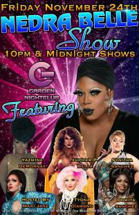 Show Ad | Garden Nightclub (Des Moines, Iowa) | 11/24/2017