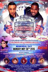 Show Ad | Mr. Gay Sin City USofA and at Large | Piranha Nightclub (Las Vegas, Nevada) | 5/30/2016