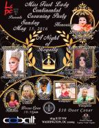 Show Ad | Miss First Lady Continental | Cobalt (Washington, D.C.) | 5/15/2016