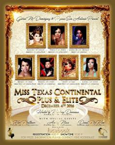 Show Ad | Miss Texas Continental Plus & Elite | Pegasus (San Antonio, Texas) | 12/4/2016