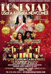 Show Ad | Miss Gay Lonestar USofA and USofA Newcomer | The Roundup Saloon (Dallas, Texas) | 1/10/2016