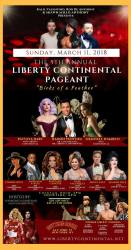Show Ad | Miss Liberty Continental and Mr. Liberty Continental | Cutting Room (New York, New York) | 3/11/2018