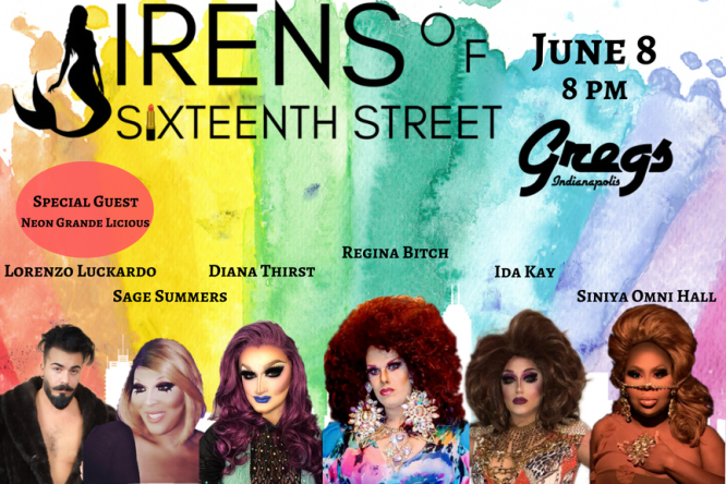 Show Ad | Gregs (Indianapolis, Indiana) | 6/8/2018