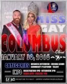 Show Ad | Miss Gay Columbus Ohio | Axis Night Club (Columbus, Ohio) | 1/30/2016