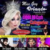 Show Ad   Miss Gay Orlando   Parliament House (Orlando, Florida)   11/21/2016