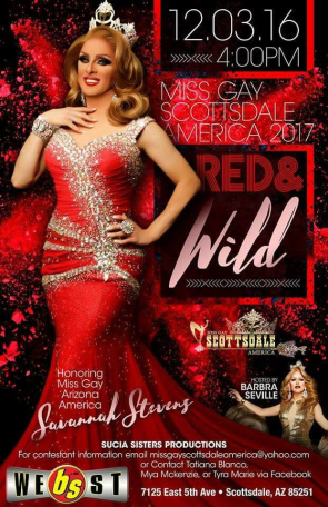 Show Ad | Miss Gay Scottsdale America | BS West (Scottsdale, Arizona) | 12/30/16