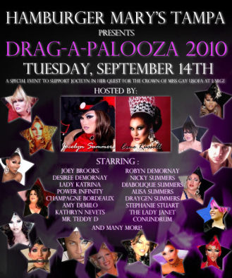 Show Ad | Hamburger Mary's (Tampa, Florida) | 9/14/2010