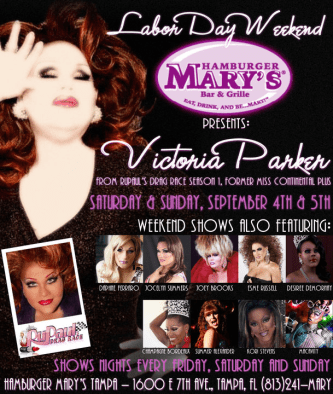 Show Ad | Hamburger Mary's (Tampa, Florida) | 9/4-9/5/2010