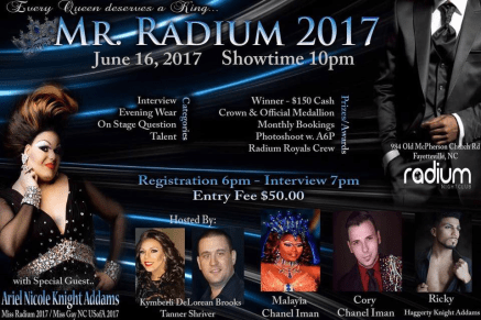 Show Ad | Mr. Radium | Radium Nightclub (Fayetteville, North Carolina) | 6/16/2017
