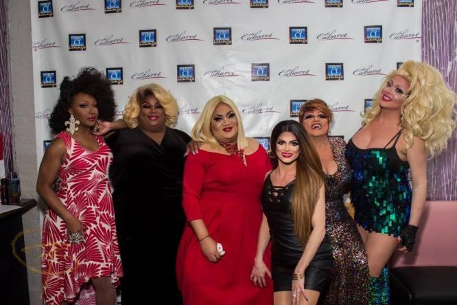Leah Halston, Jayda Mack, Quasi, Chasity Marie, Chelsea Pearl and Jessica Dimon