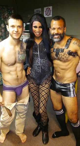 Johnny Dangerously, Sabrina Caprice Heartt and Sterling Johnson
