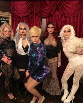 Holy Daze, Selena T. West, Helena Troy, Alicia Austin and Celebrity Jean at Cavan Irish Pub (Columbus, Ohio)