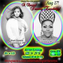Show Ad | Secret Lounge (New York City, New York) | 8/17/2010