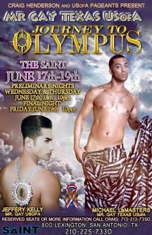 Show Ad | Mr. Gay Texas USofA | Saint (San Antonio, Texas) | 6/17-6/19/2015