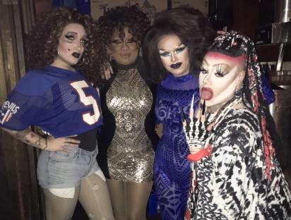Roxy Nikole, Anisa Love, Selena T. West and Krystal Something-Something