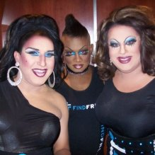 Virginia West, Anisa Love and Nina West