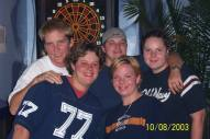 Dart Team | Blondie's Bar & Patio | 10/8/2003