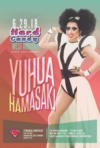 Show Ad | Stonewall Nightclub (Huntington, West Virginia) | 6/29/2018