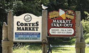 Cortes Market Takeout Cortes Island