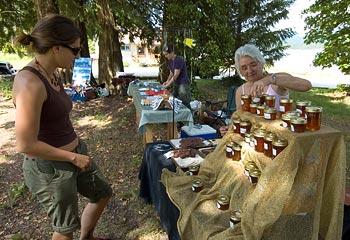 Squirrel Cove Cortes Island Sunday Farmers Market