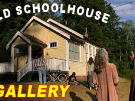 Old Schoolhouse Gallery Cortes Island Arts