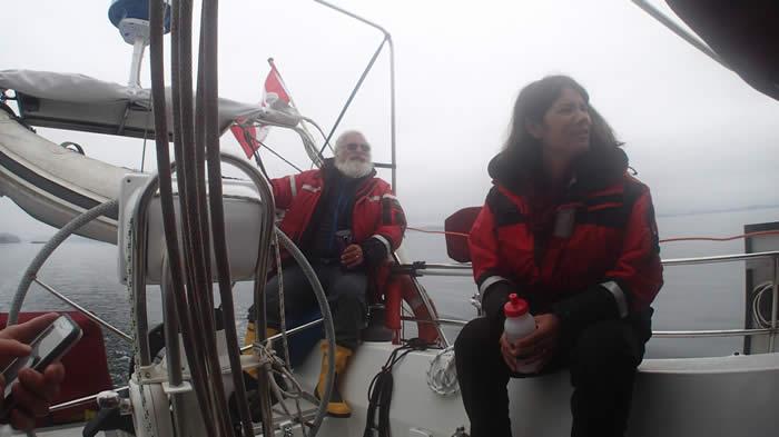 Barry and Amanda Glickman speak on their adventures