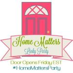 Home Matters Linky Party #106