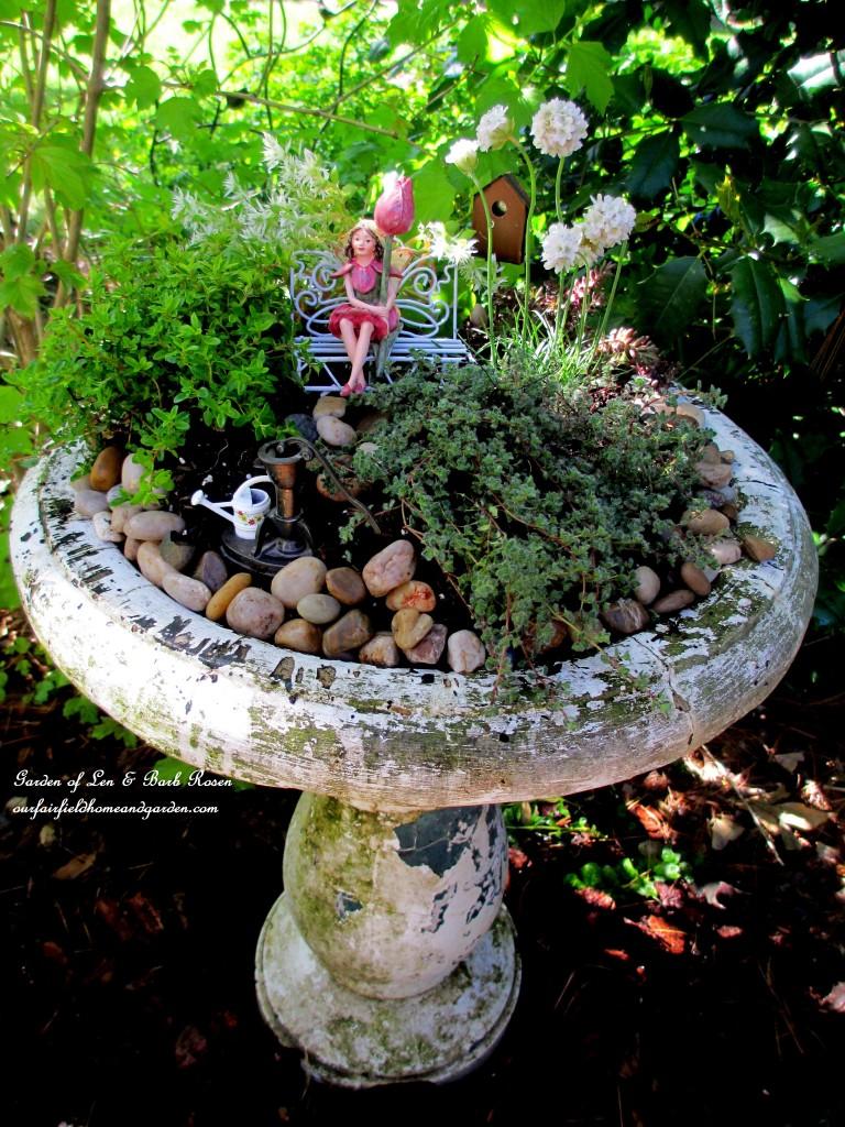 Dazzling Outdoor Fairy Diy Project Day Fairy Garden Our Fairfield Home Garden Fairy Garden Planter Boxes garden Fairy Garden Planter Box