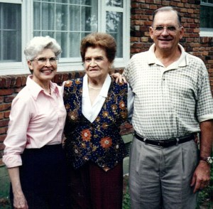 Martha Ann, Daisy and Jimmy Armstrong