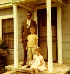 Don, Steve and Kelly Hemperley 1969