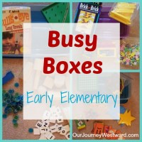 Busy Boxes