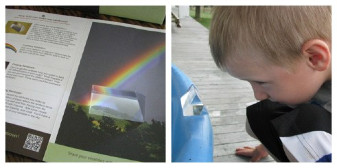 science, preschool, babbabox, rainbows