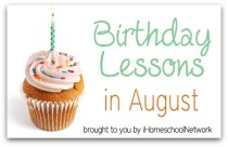 August birthday lesson