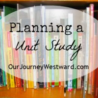 How To Plan A Unit Study