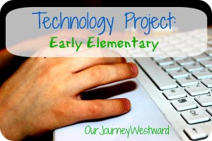 Early Elementary Technology Project
