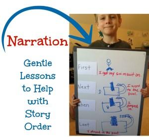 Narration help: story order
