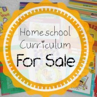 Homeschool Curriculum For Sale