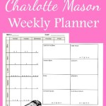 Elementary Charlotte Mason Weekly Planner