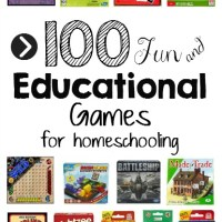 100 Educational Games That Make Great Gifts