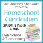 Homeschool Curriculum 2015-2016