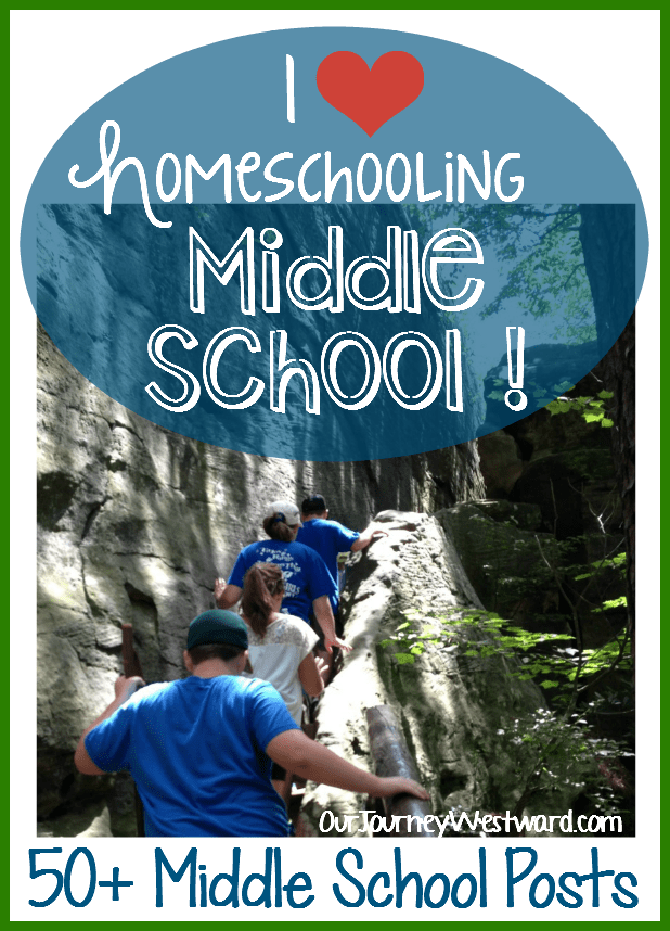 The middle school years are some of my favorite to homeschool!  This mega-post shows you how I do it.