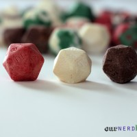 Make Your Own Chocolate Gaming Dice, with a DIY D20 Silicone Mold