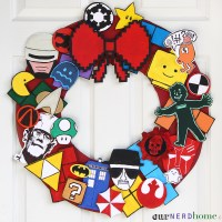 DIY Geek Decor: Ultimate Fandom Holiday Wreath
