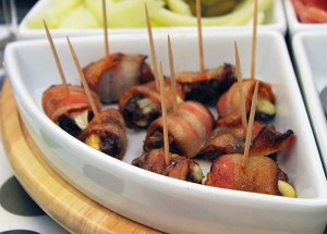 Tapas Recipe: Blue Cheese Stuffed Bacon-Wrapped Dates