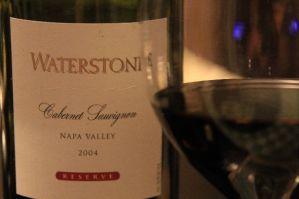 Napa Valley: Waterstone 2004 Reserve Cabernet Sauvignon