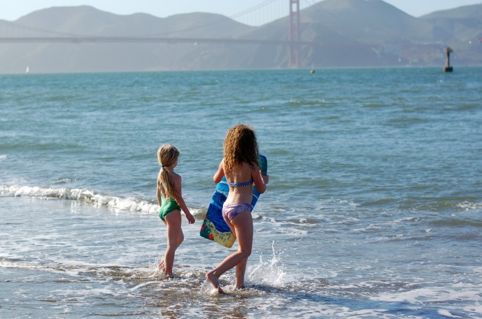 The girls are starting to tell me how amazing and beautiful San Francisco is. I think they may be starting to get it.