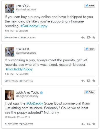 http://www.foxsports.com/nfl/story/super-bowl-godaddy-pulls-ad-after-complaints-about-puppy-mill-animal-rights-activists-012715