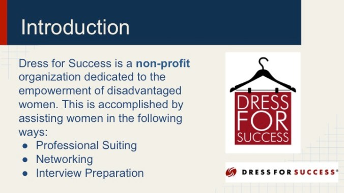 JOUR4530 Final Pitch Dress for Success Page 3